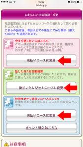 3種類の支払方法