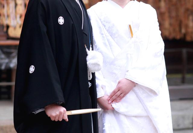 願いが叶って結婚することに Photo By 写真AC